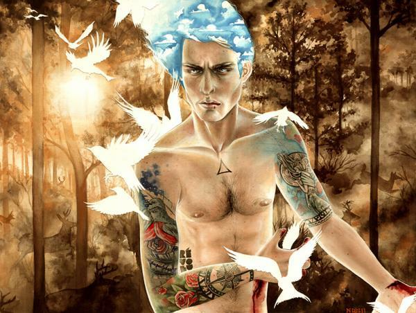 tattoo man by ns david