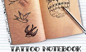 Tattoo Notebook