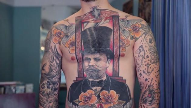 tattoos Julien Roze
