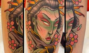David Tevenal Tattoos
