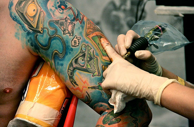 a glimpse of the future tattoos technology senses lost