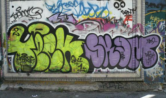 Teck Scam Graffiti Toronto