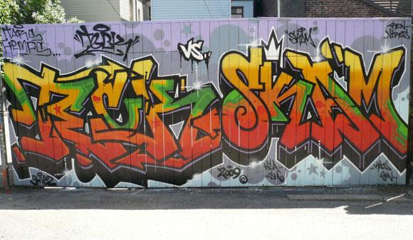Teck Skam Graffiti Toronto