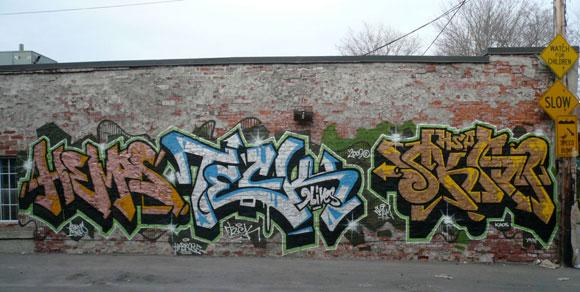 Hemp Teck Skam Toronto Graffiti