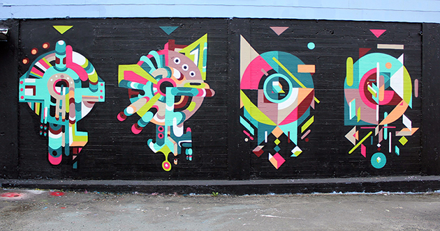 tek graffiti shapes