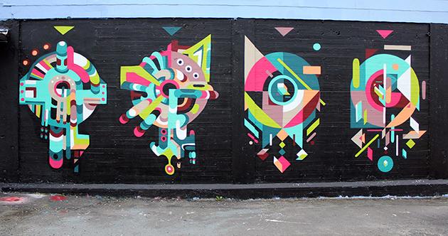 tek graffiti shapes