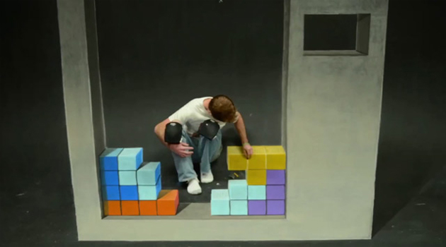 tetris stop motion