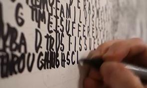 Phil Hansen's Text Art