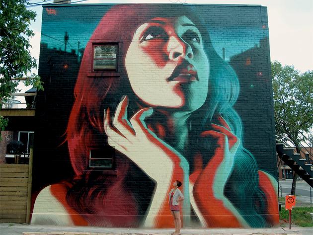 El mac mural in montreal senses lost for Art mural montreal