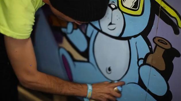 the seventh letter graffiti edc