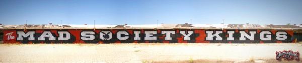 The Mad Society Kings Graffiti