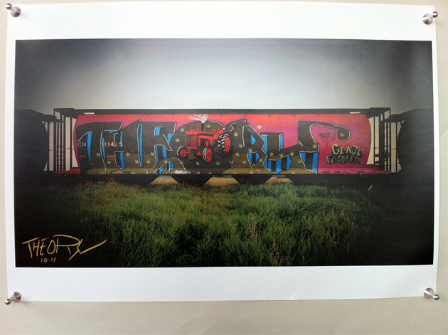 theory ganga wholecar print