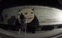 Theory Graffiti Time-lapse