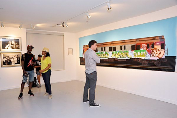 artists of the third rail art show