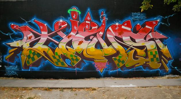 tiws graffiti wall