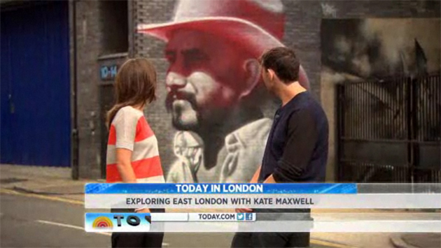 today show mac mural olympics