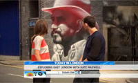 Today Show Olympics Coverage with El Mac Mural