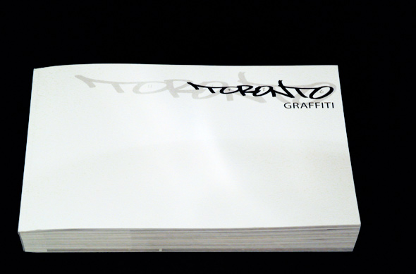 toronto graffiti book