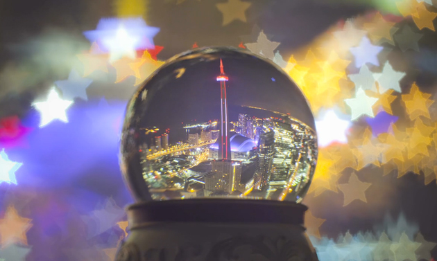 Toronto snowglobe