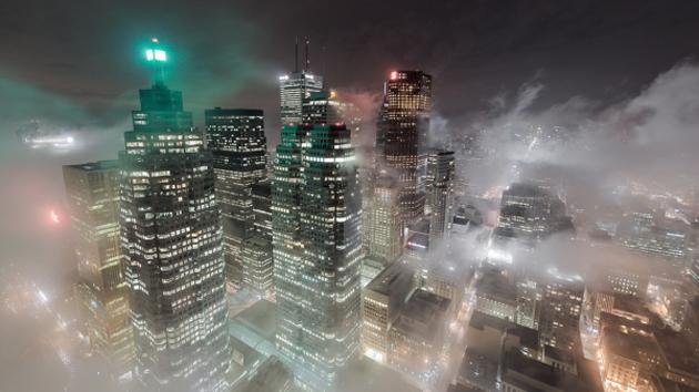 toronto downtown time-lapse