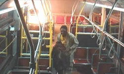 TTC Arsonist Gets Caught on Video