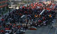 Toronto – Gardiner Expressway Tamil Protest – 2009