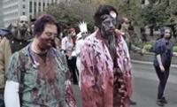 Toronto Zombie Walk Video