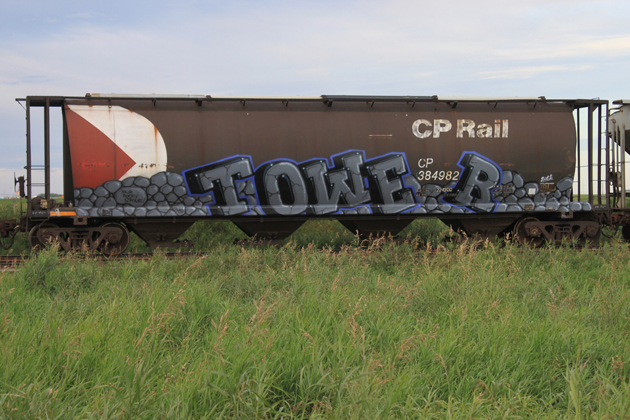 tower e2e hopper graffiti