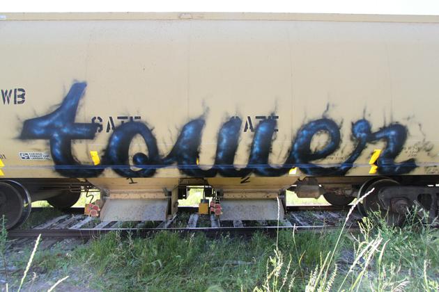 tower graffiti hopper freight