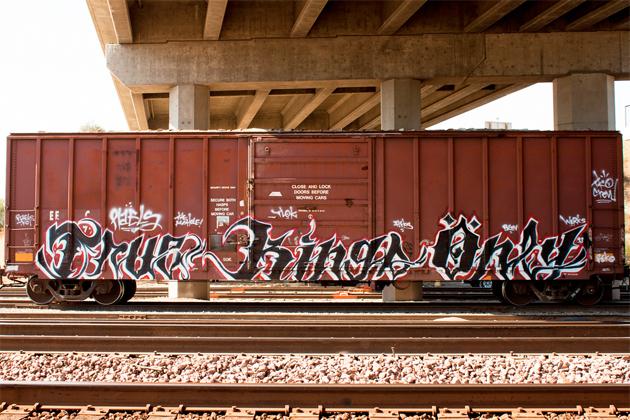 Marvelous Tko Graffiti #1: True-kings-only-graffiti-freight-boxcar.jpg