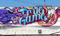 True Game Graffiti by Revok, Augor & Rime