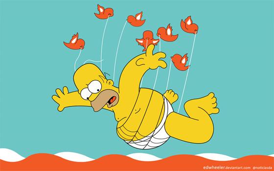 Twitter Homer Simpson
