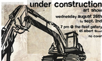 Under Construction Art Show