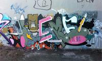 Vancouver Graffiti Walls