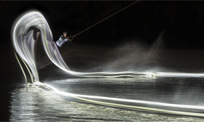 Light Wakeboarding Photographed by Patrick Rochon