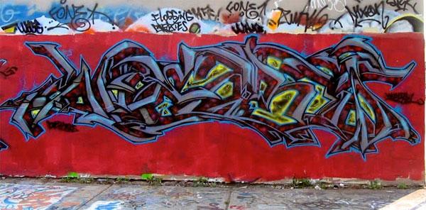 webs graffiti