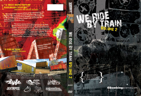 We Ride By Train 2 DVD Cover