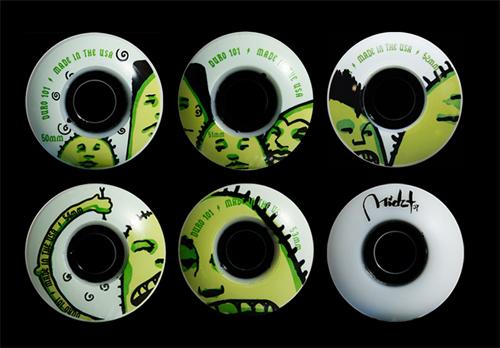 Midzt Skateboard Wheels