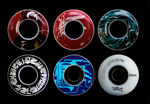 Retna Skateboard Wheels