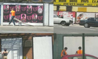 New York Street Advertising Takeover