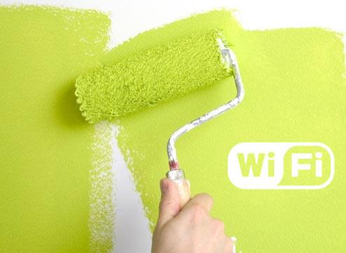 Wi-fi Paint