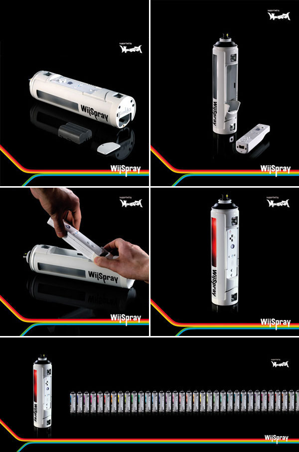 Nintendo Wii Spray Paint Controller