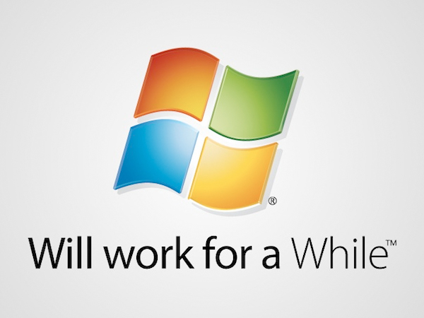 will work for a while windows