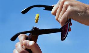 Titanium Bottle Opening Sunglasses