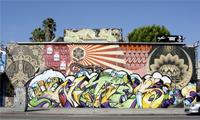 Witnes & Risk Graffiti on Melrose