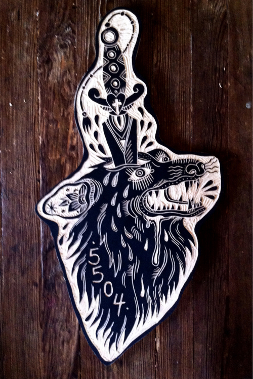 Bryn perrotts tattoo wood carvings senses lost