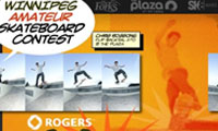 Winnipeg Amateur Skateboard Contest