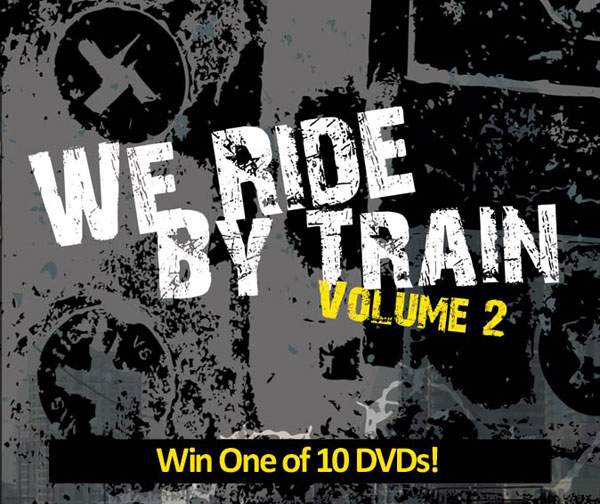 We Ride By Train Giveaway