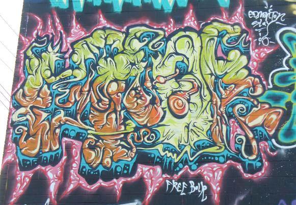 Writers Block 2009 Graffiti Edmonton