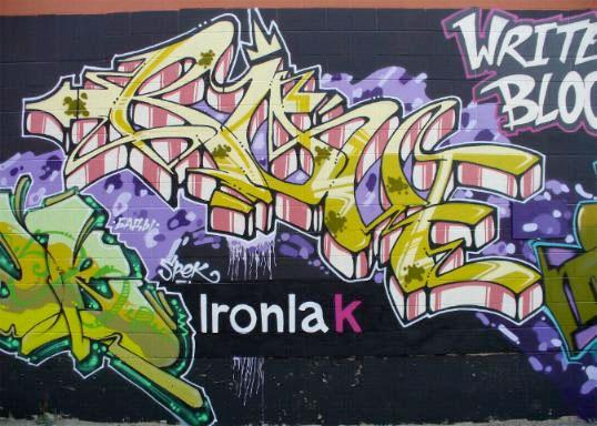 Rove Graffiti Writers Block